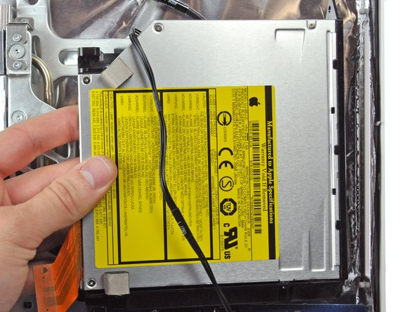 "iMac Intel 20"" EMC 2105 and 2118 Optical Drive Replacement"