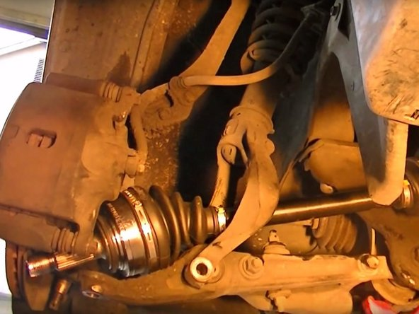 1996-2000 Honda Civic Drive Axle Replacement