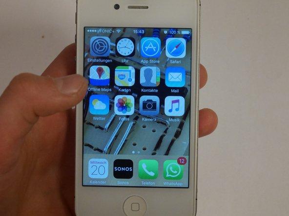 iPhone 4S SIM Karte umtauschen
