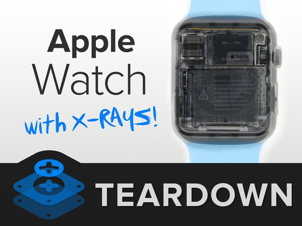 Apple Watch X-ray teardown banner