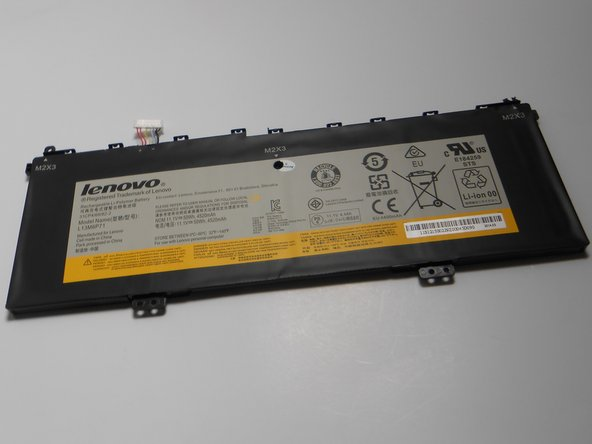 Once all wires are unattached to the rest of the computer, remove the battery from the laptop and replace.