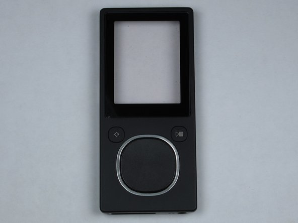 Zune Flash 2nd Generation Face Plate Replacement