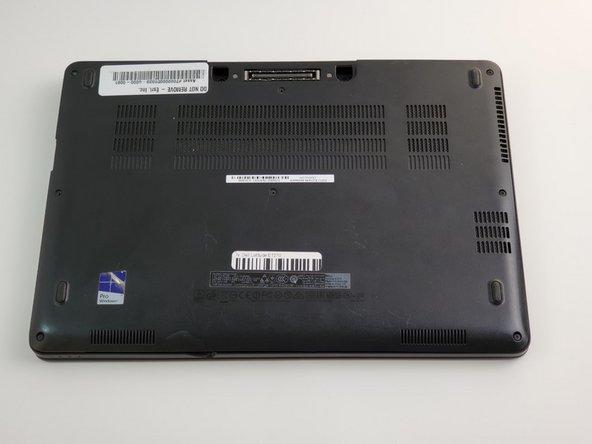 Dell Latitude E7270 Back Panel Replacement