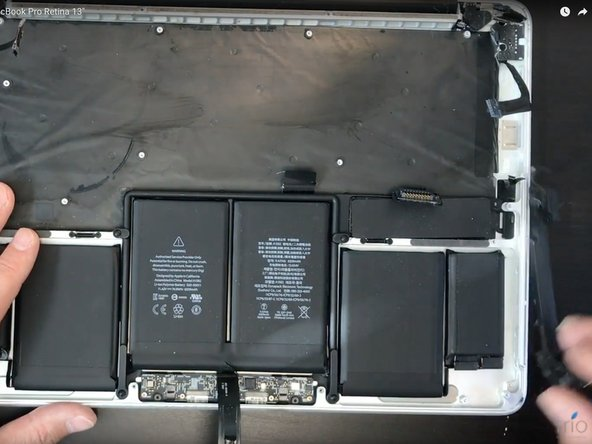 How to replace MacBook Pro battery in A1502 MacBook Pro Retina 13""