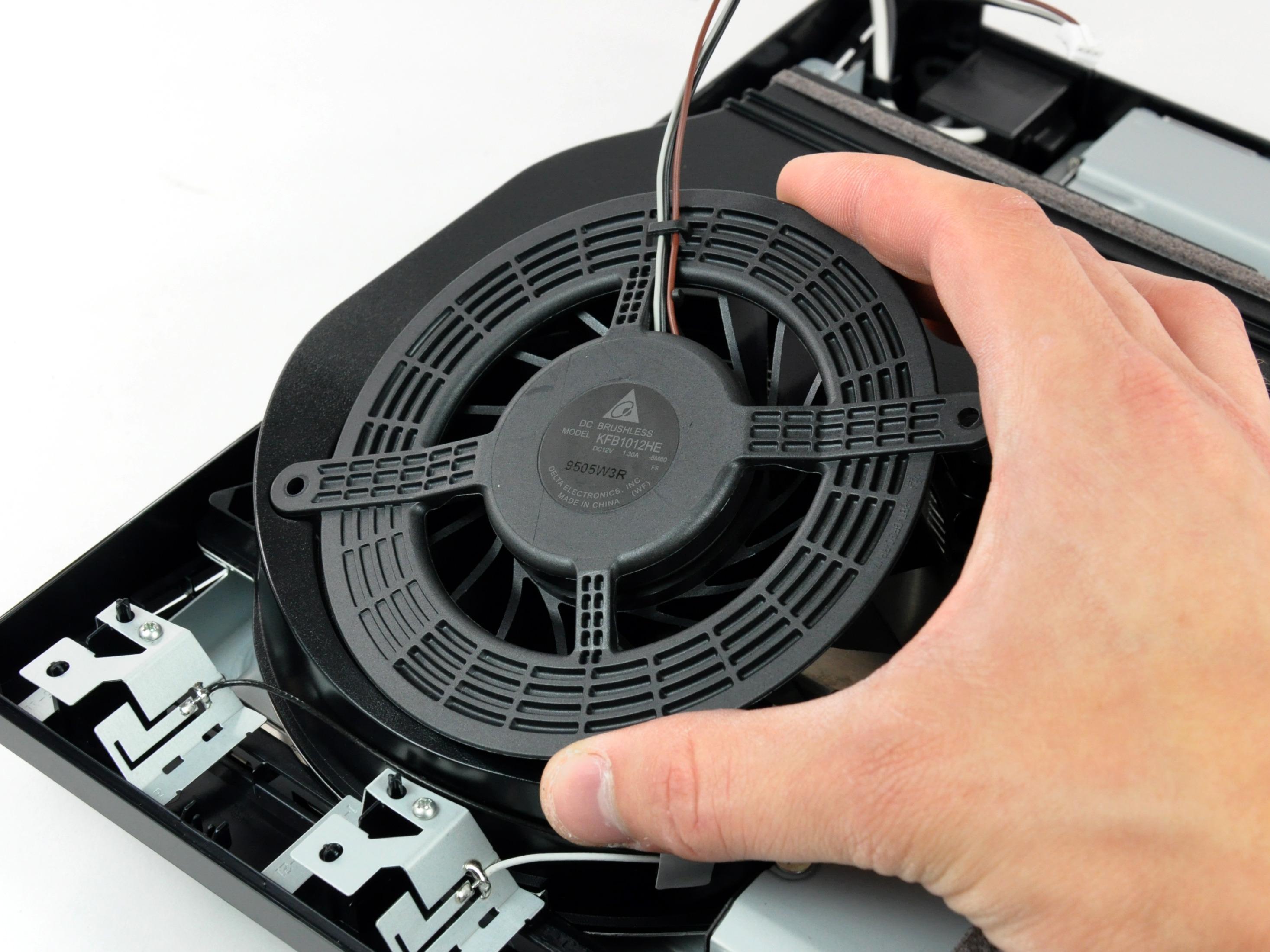 Playstation 3 Slim Repair Ifixit Sony Super 320 Gb Fan
