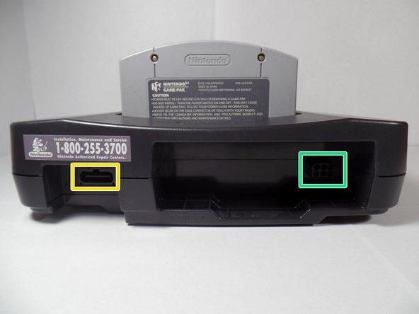 Nintendo 64 Game Pak slot