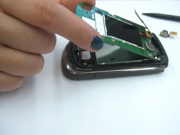 Disconnect the LCD display screen.