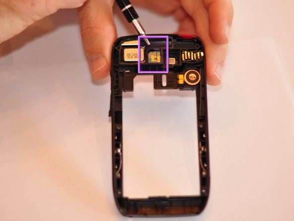 Nokia E71x Camera Flash Replacement