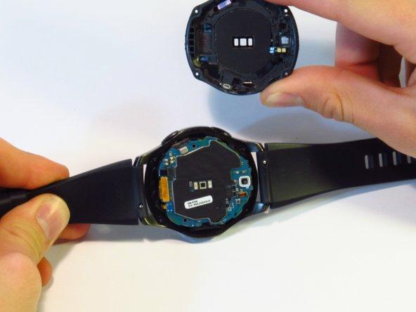 Samsung Gear S3 Frontier cambio de tapa trasera