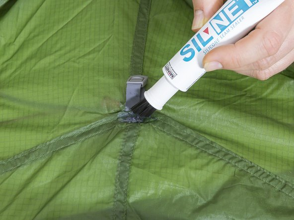 ... The tent material should be dry as well as free of dust and oil . & How can I seal the seam stitching on my ultralight tent? - iFixit ...