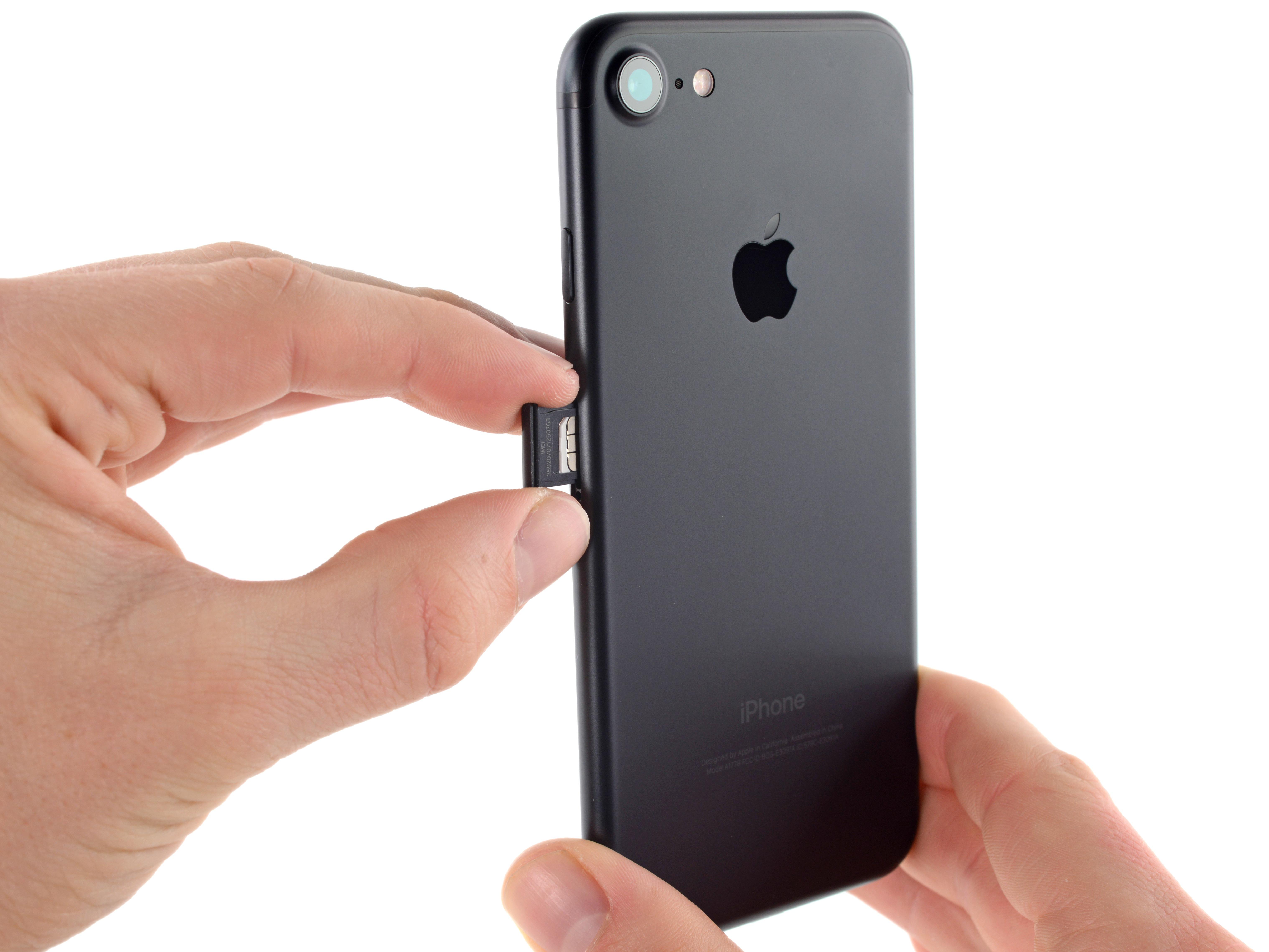 Iphone  Sim Card Holder
