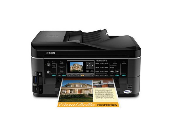 Epson Workforce 4535 manual