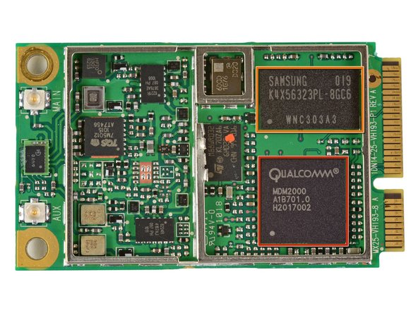 Image 1/2: Qualcomm MDM2000