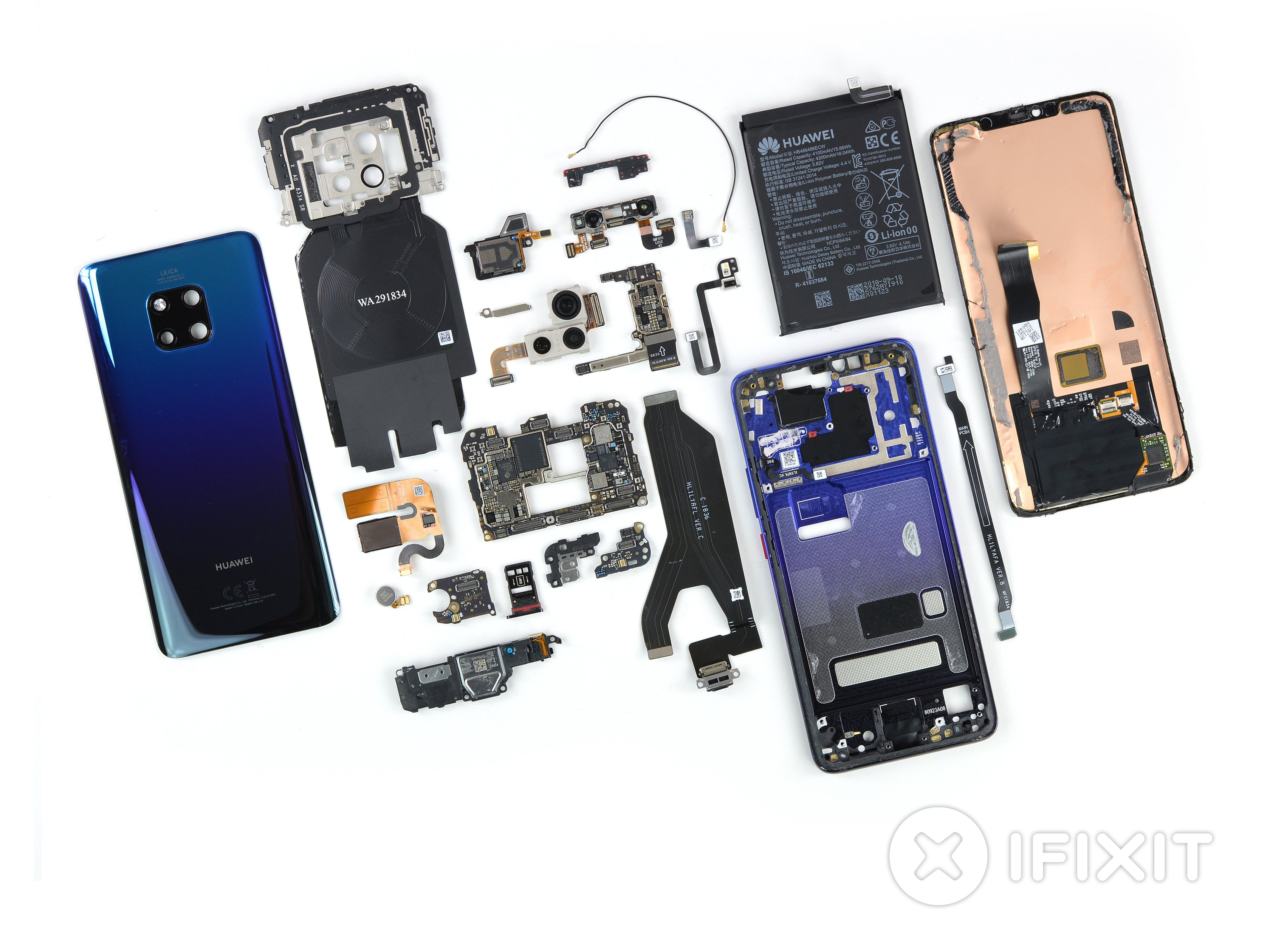 huawei mate 20 pro teardown ifixit. Black Bedroom Furniture Sets. Home Design Ideas