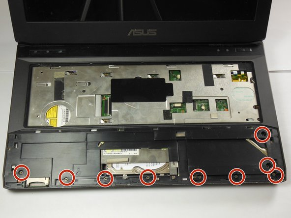 Asus G53JW-A1 Underside Panel Replacement