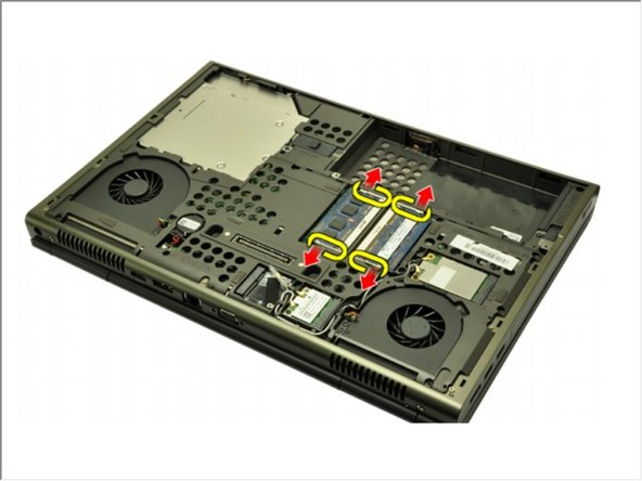 Dell Precision M4600 Memory Module Replacement