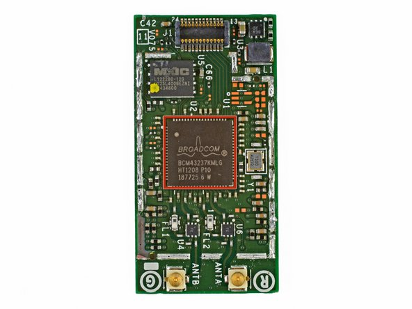 Image 1/3: Broadcom [http://www.broadcom.com/products/Wireless-LAN/802.11-Wireless-LAN-Solutions/BCM4323|BCM43237KMLG] Wireless LAN module