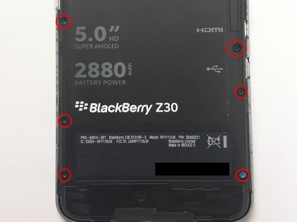 BlackBerry Z30 Battery Replacement - iFixit Repair Guide