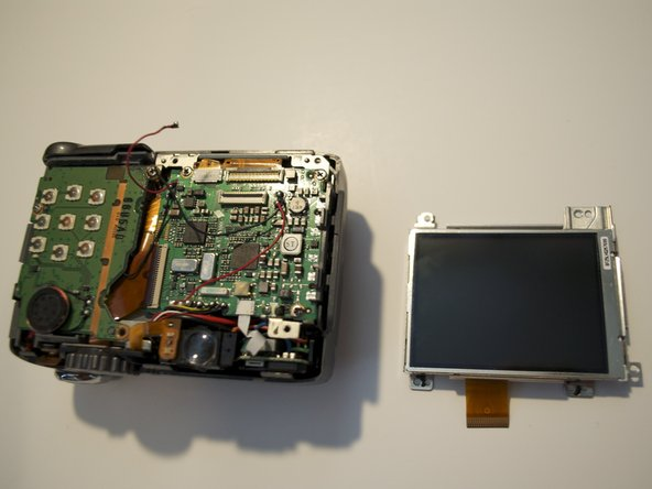 Canon PowerShot A590 IS LCD screen Replacement