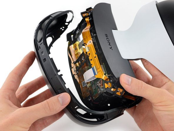 PlayStation VR virtual reality headset teardown