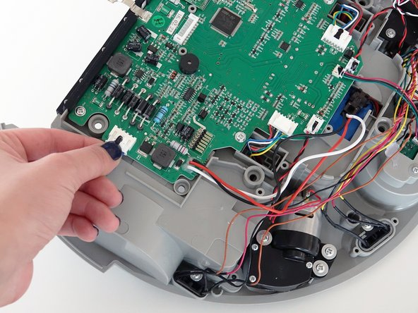 Attach the circuit plug to the mainboard securely, and you're ready to start closing bObi Pet.