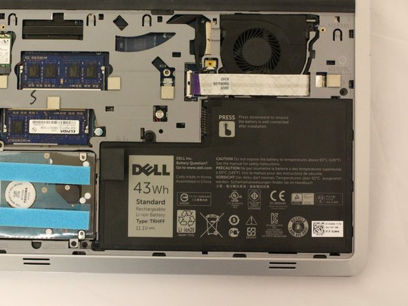 Dell Inspiron 14-5447 Battery Replacement