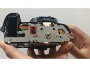 How to fix Nikon D3000 shutter release button error