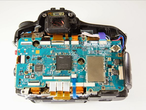 Sony SLT Alpha-65V  Back Panel Disassembly