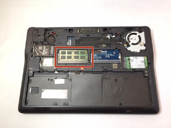 Dell Latitude E7250 RAM Replacement