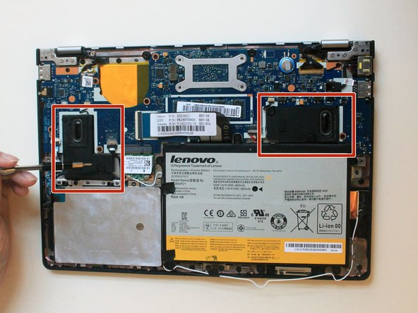 Lenovo Ideapad Yoga 2 11 Speakers Replacement
