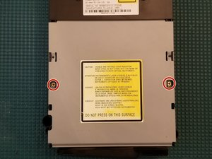 Xbox Thomson DVD Drive Disassembly