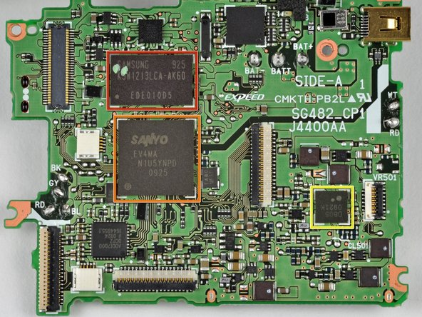 Image 1/2: Samsung 925 K5W1213LCA-AK60 EDE010D5