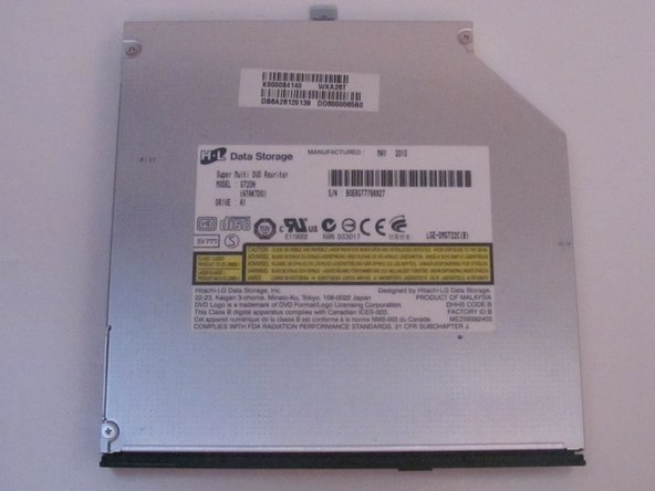 Toshiba Satellite L455D-S5976 Optical Drive Replacement