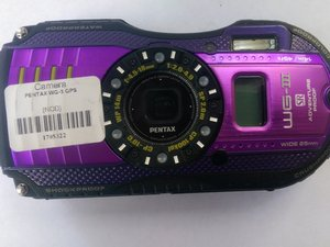 Pentax Optio WG-3 GPS Repair