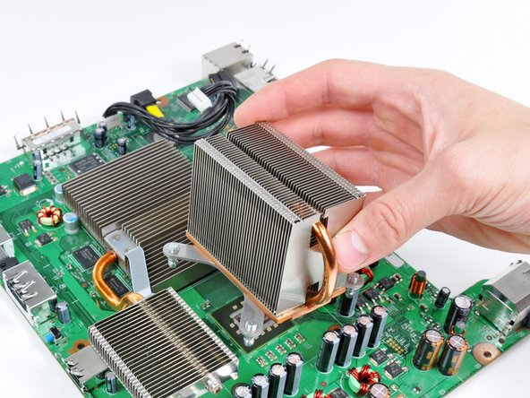 Remove the CPU heat sink.