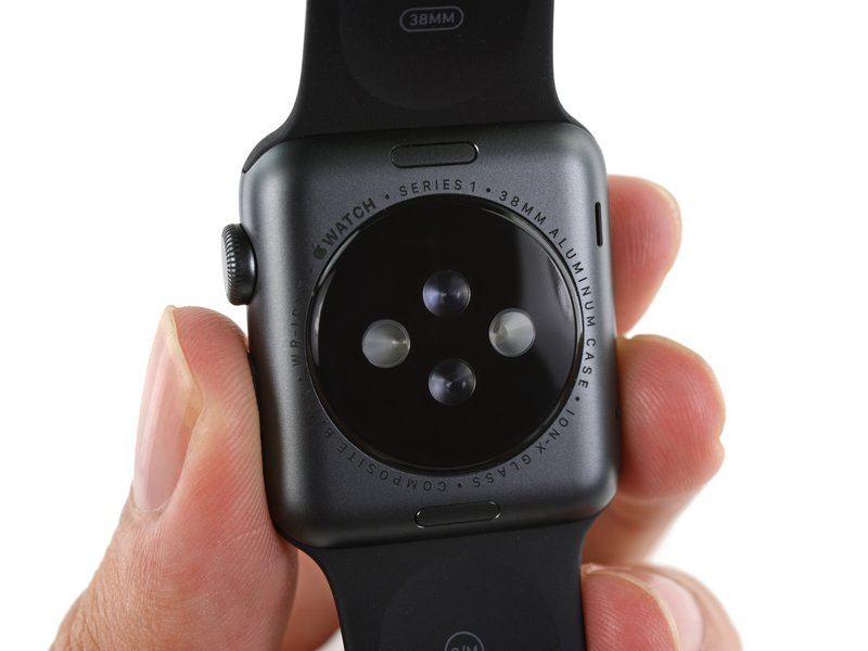 we just took apart the apple watch series 1 here s what we found out ifixit