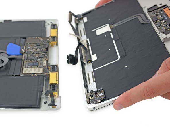 Retina MacBook 2017 Lower Case Assembly Replacement