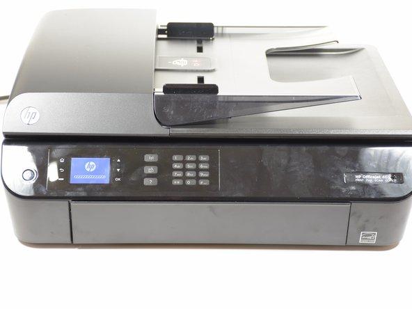 Power on the printer.