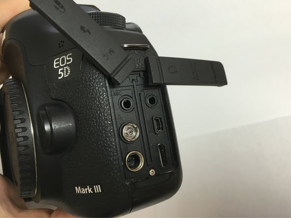 Canon EOS 5D Mark III Internal Battery Replacement