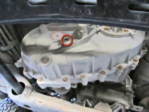 2002-2008 Dodge Ram 1500 Transfer Case Oil Replacement
