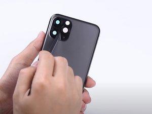Remplacement de la vitre arrière de l'iPhone 11 Pro