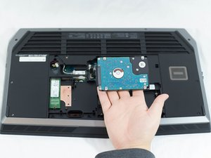 Alienware 17 R3 Hard Drive Replacement