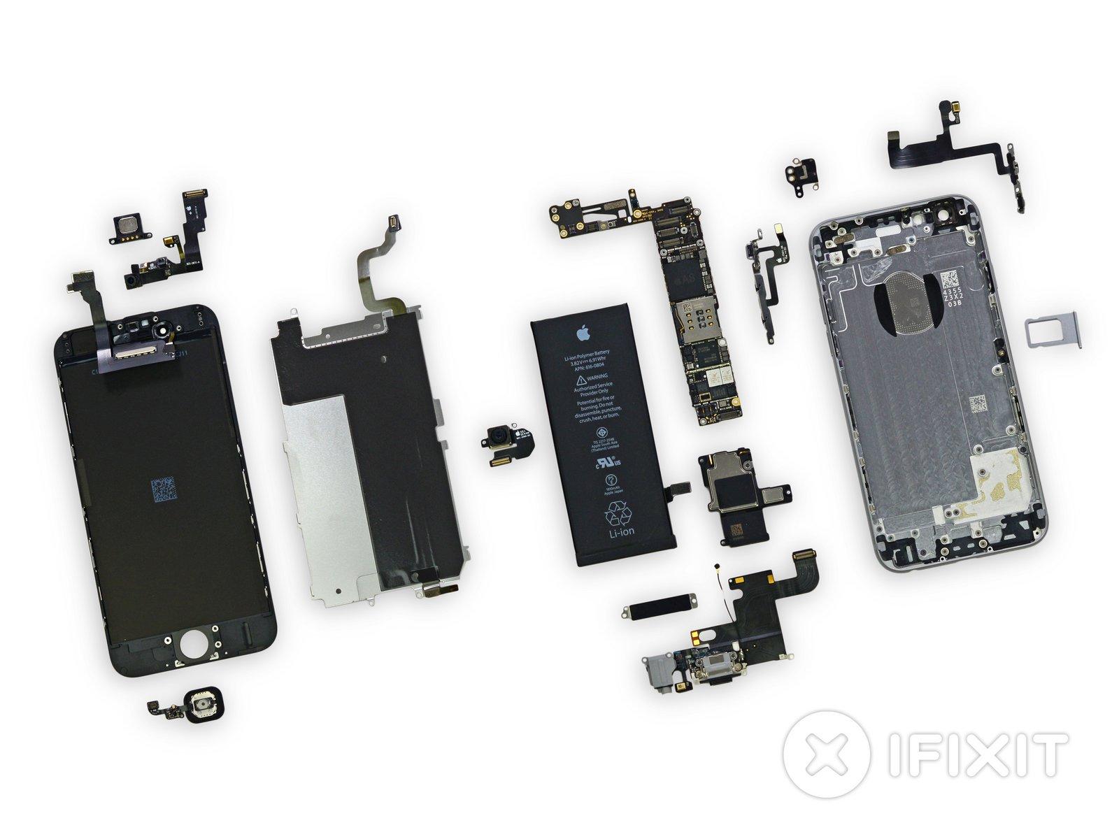 Iphone 6 Teardown Ifixit G Five Mobile Circuit Diagram