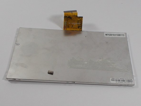 The digitizer can now be removed and replaced.