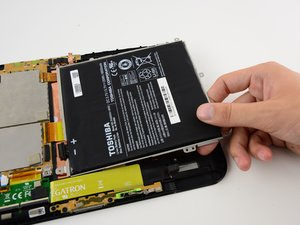 Toshiba Excite 10 AT300 Battery Replacement