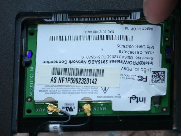Asus V6800V Wireless Card Replacement