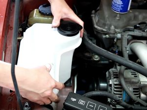Washer Fluid Reservoir