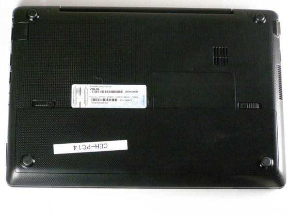 ASUS Eee PC 1018P Battery Replacement
