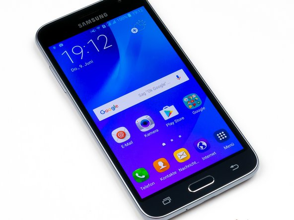 How to replace charging port in a Samsung Galaxy J3 (2016)