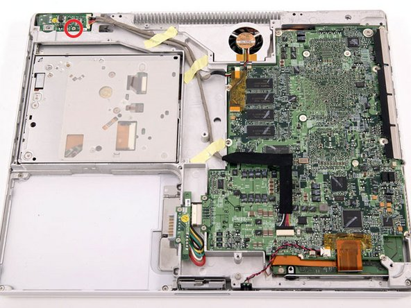 "iBook G4 14"" 933 MHz-1.33 GHz DC-In Board Replacement"
